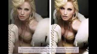 Звёзды до и после фотошопа 2))