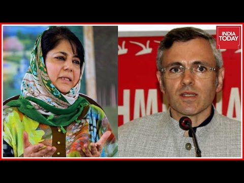 Omar Abdullah Hits Out At Mehbooba Mufti