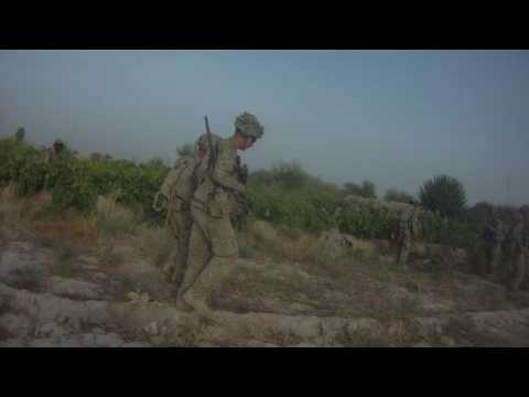 10th Mountain 2-87 Infantry, Lt. Michael Caspers hits IED in Kotezi, Afghanistan