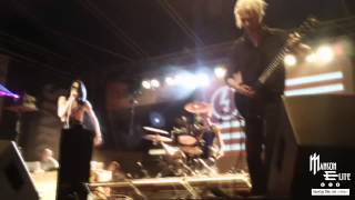 Manson Élite-Marilyn Manson Tribute/ Irresponsible Hate Anthem  (live - Slovakia Komoca MOTOFEST)