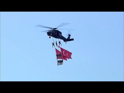 Video | Solo Türk, Türk Yıldızları ve THK'nın yangın söndürme uçakları Teknofest'te