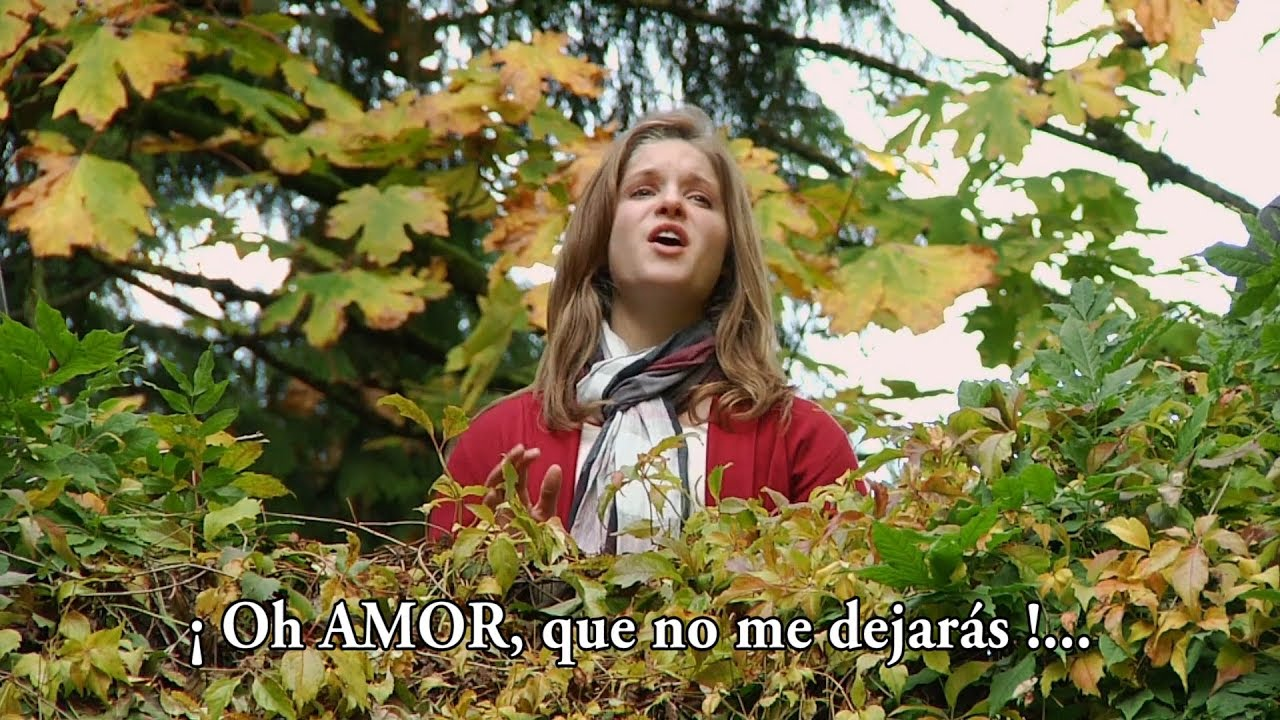 OH AMOR, QUE NO ME DEJARÁS - Fountainview Academy