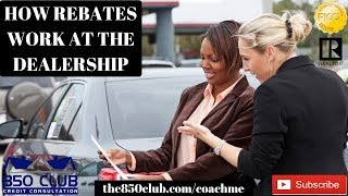 How To Save Money At The Dealership When Buying/Leasing A Car (Rebates) - Capital One, Bankruptcy