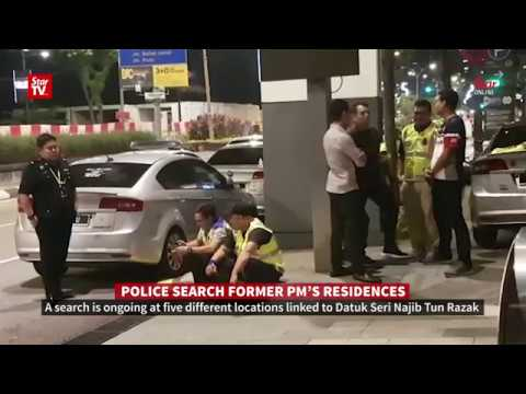 Police search five locations connected to Najib