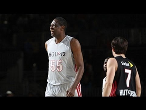 Mutombo's block and signature finger wag!