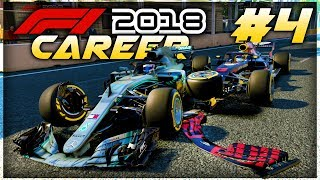 F1 2018 Career Mode Part 4: CHAOS AT BAKU! CRASHES! FREAK RESULTS!