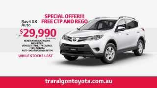 Traralgon Toyota Clearance Sale