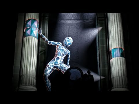Shoulders of the Past - LUMA Projection Arts Festival - Light Harvest