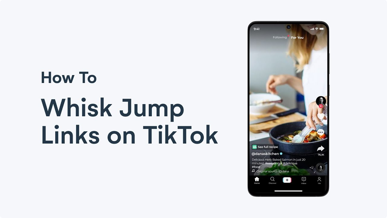 How to use Whisk on Tiktok