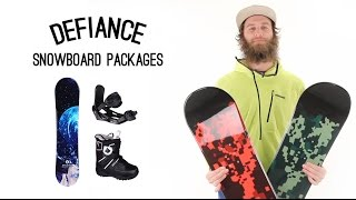 Defiance Snowboard Packages