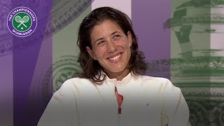 Garbiñe Muguruza Wimbledon 2017 final press conference
