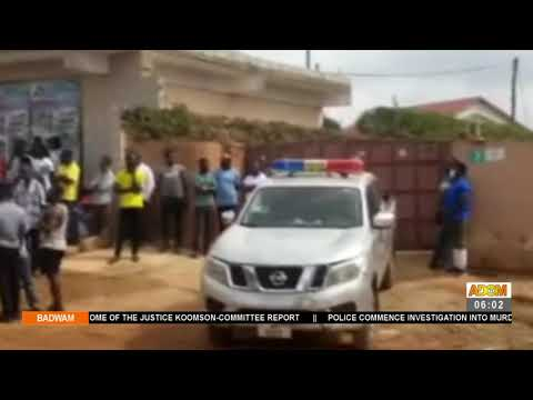 Police on Manhunt for murderers of 33-year-old man who was shot at Tantra Hill - Badwam (23-7-21)