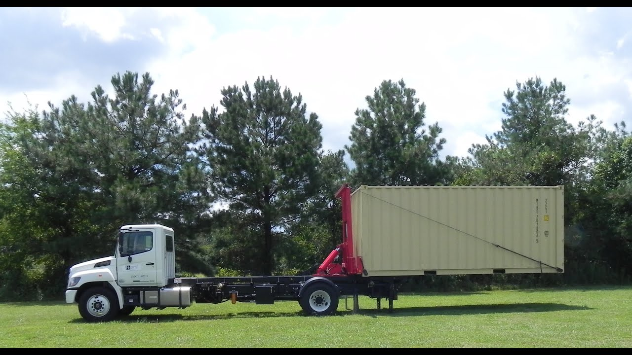 Portable Storage Delivery System    Horizontal Lift Co.