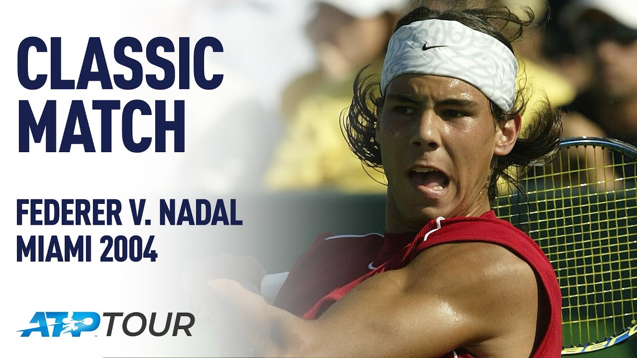 Federer & Nadal's First EVER Match | CLASSIC MATCH | ATP