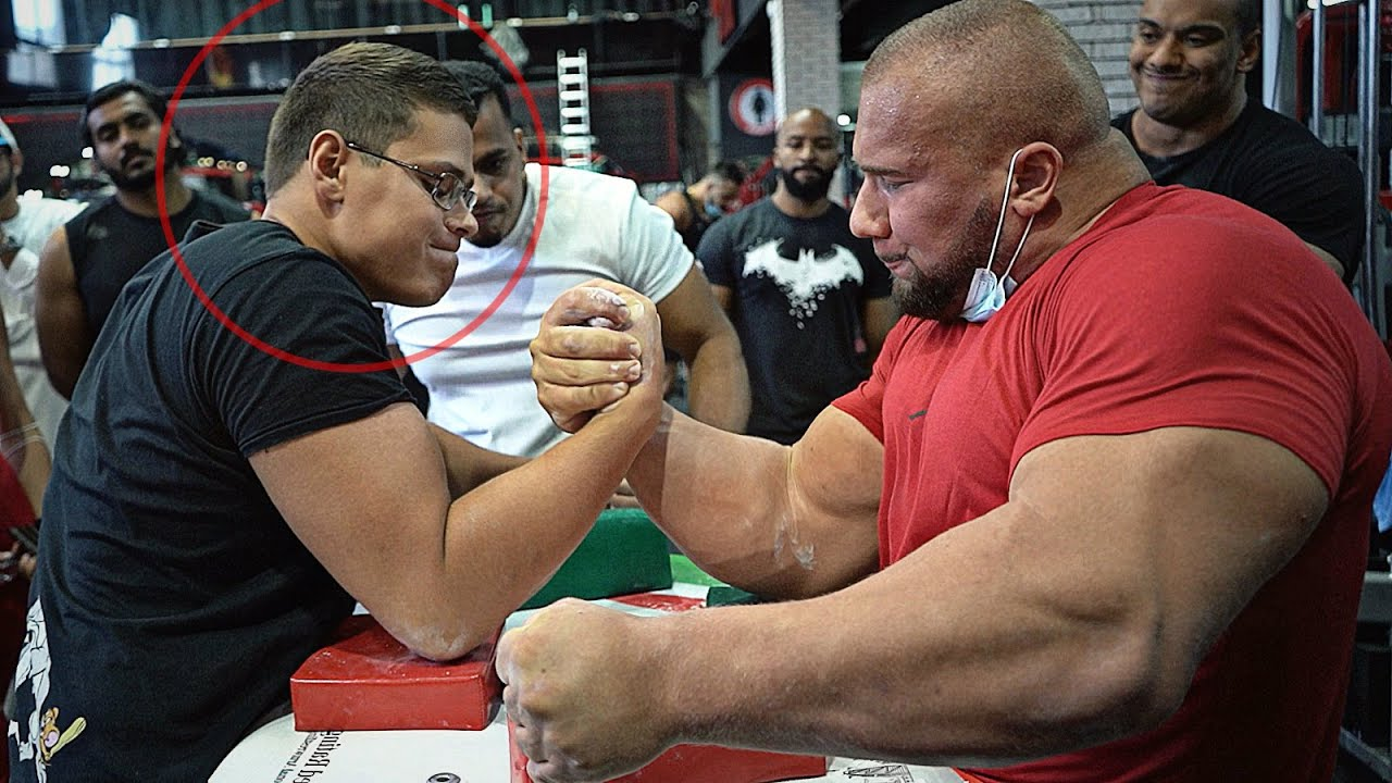 20 YEARS OLD ARM WRESTLING CHAMPION