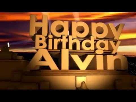 Happy Birthday Alvin