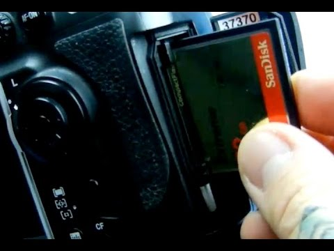 Angry Photographer: VERY FAST WAY To Ruin Your DSLR.  DONT DO IT!  CF Cards