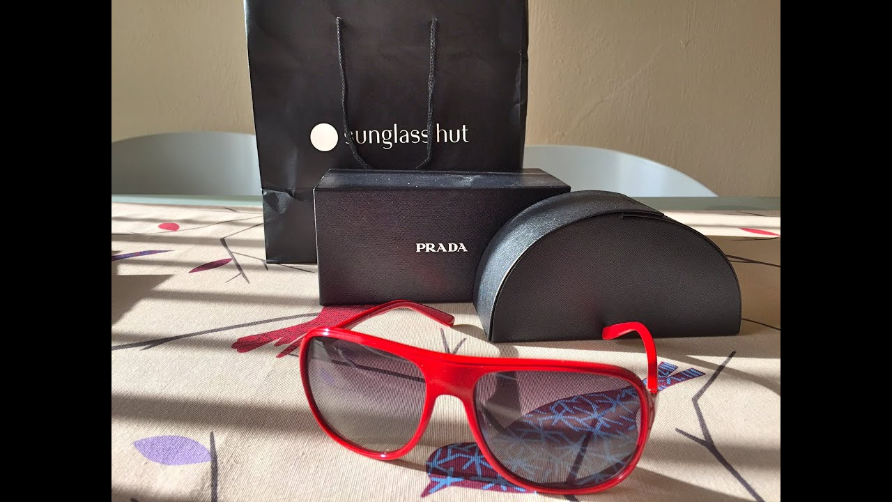 14ec6af5eb Prada Sunglasses Unboxing - YouTube