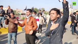 Iraqi protesters hit streets of Basra in anti-govt unrest that's lasted 5 months