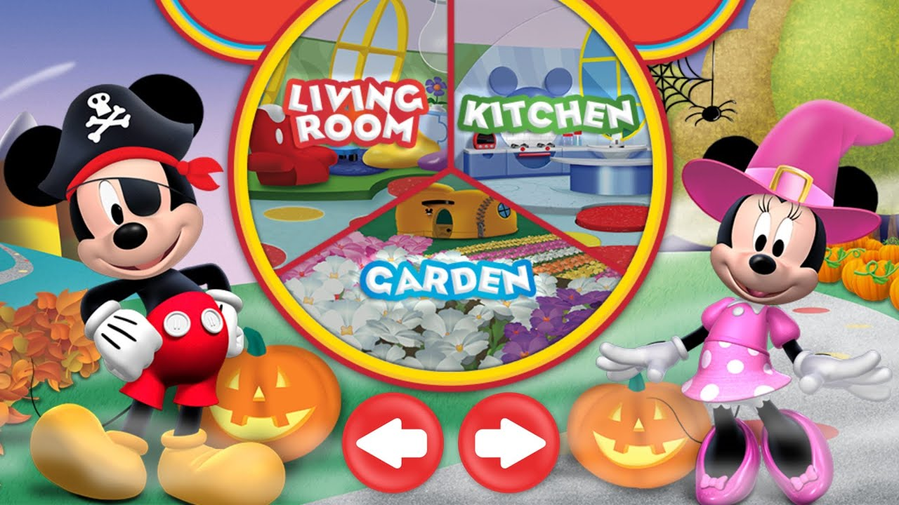 Halloween Mickey Mouse Clubhouse Game App For Kids