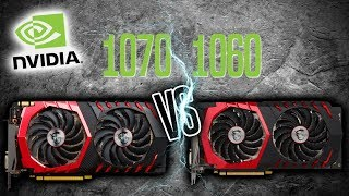 TEST: MSI 1070 Gaming X VS MSI 1060 Gaming X