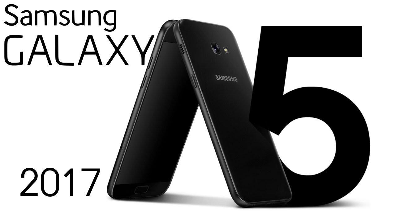 Обзор Samsung Galaxy A5 2017 SM-A520F - YouTube