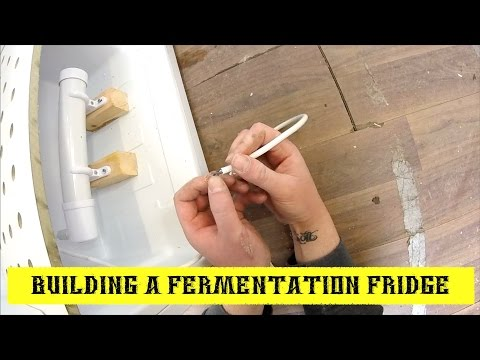 How To Build A Fermentation Fridge ~ Bigger Better Fridge!