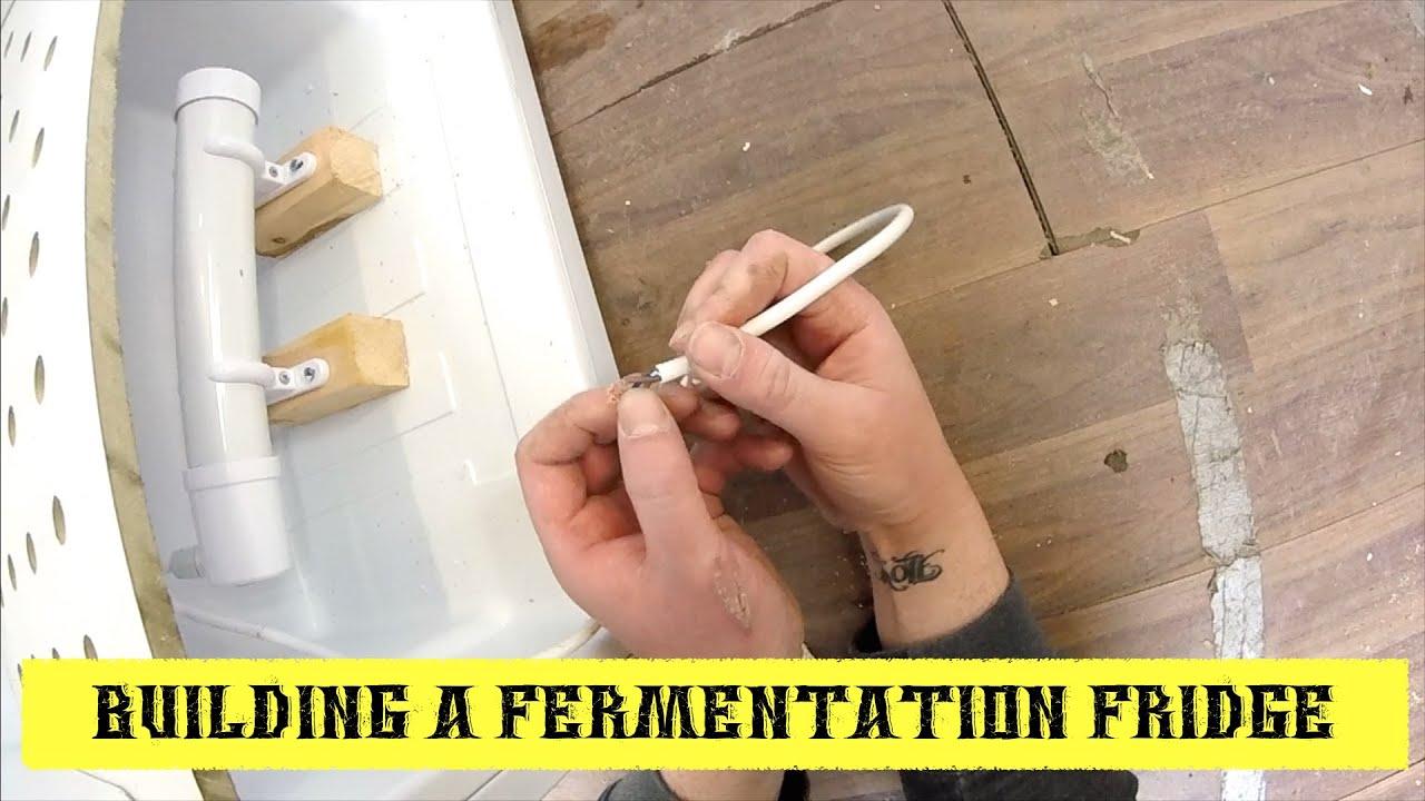How To Build A Fermentation Fridge ~ Bigger Better Fridge!
