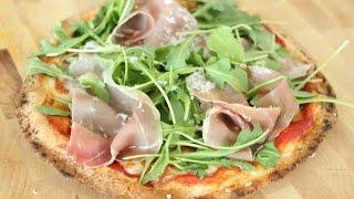 Arugula and Prosciutto Pita Pizza