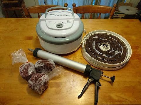 How long does it take to make ground venison jerky in a dehydrator