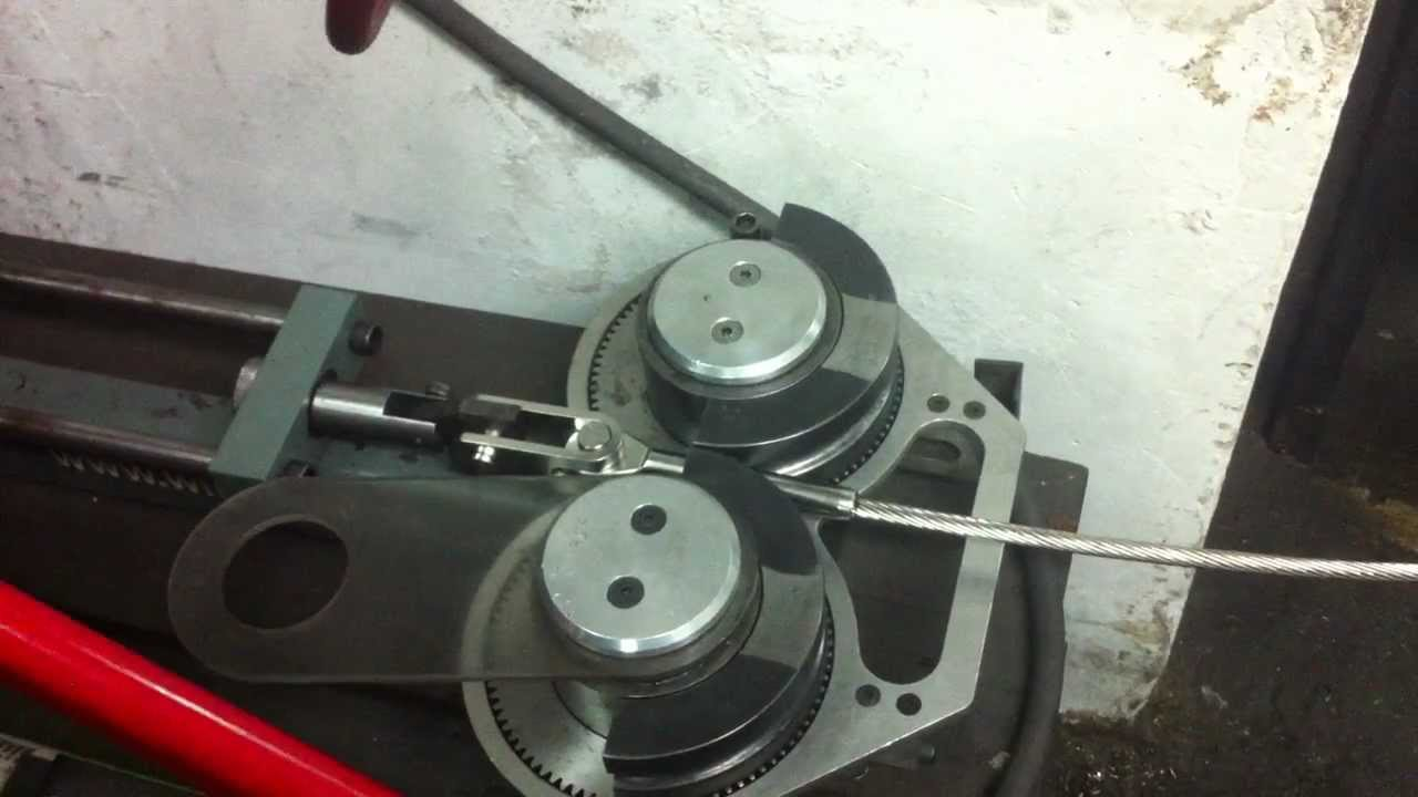 Roller Swage Press Youtube