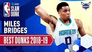Miles Bridges' Best Dunks of the Season | 2019 AT&T Slam Dunk Participant Video