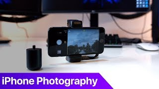 My iPhone Photography Workflow - Featuring Halide and Shoulderpod