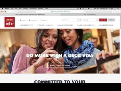 BECU Online Banking Login | Enroll