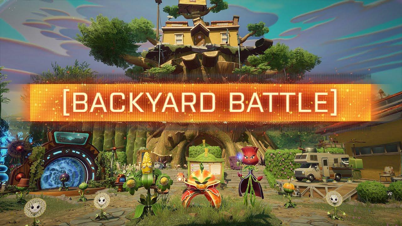 backyard battleground plants vs zombies garden warfare 2