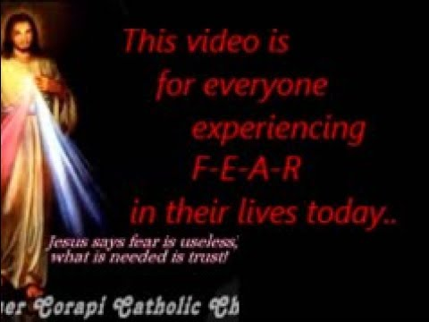 Are you experiencing FEAR in your life today?