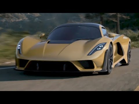 Hennessey Venom F5 – The 301 MPH Supercar (483 km/h)