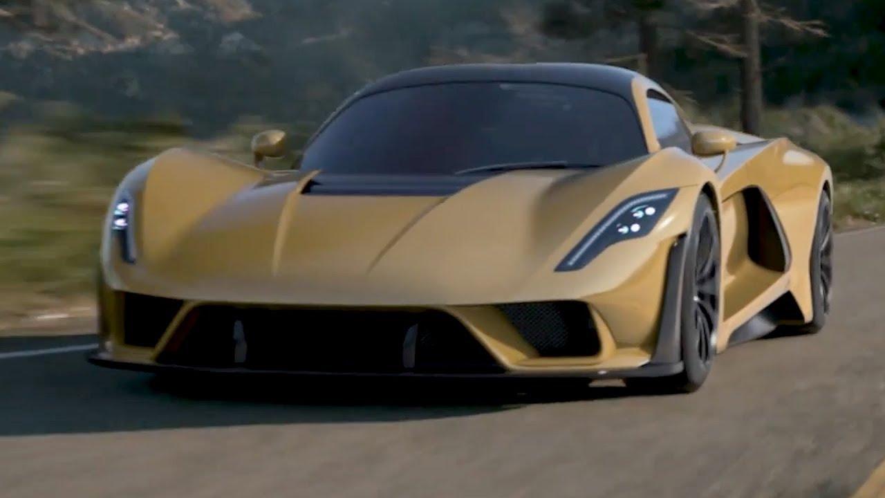 Hennessey Venom F5 >> Hennessey Venom F5 - The 301 MPH Supercar (483 km/h) - YouTube