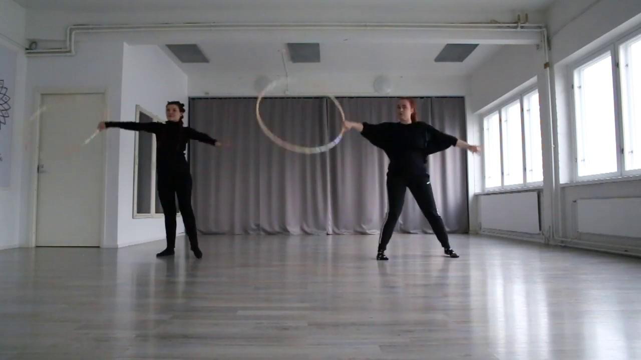 Vannetanssi koreografia osa3. ( MoodforHoop 2020 )