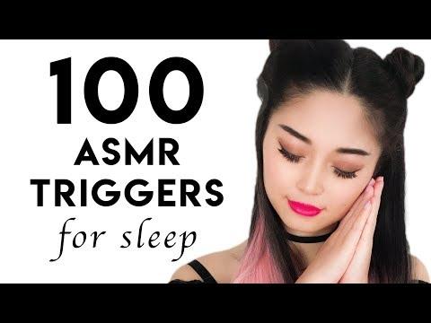 100 Tingliest ASMR Triggers For Sleep (2 HOURS)