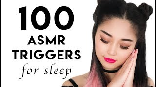 [ASMR] 100 ASMR Triggers For Sleep (2 HOURS)
