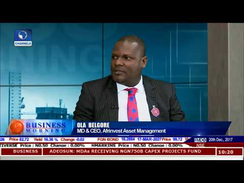 Analysing Nigeria's Mutual Funds In 2018 Pt.1 |Business Morning|