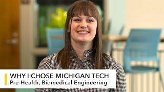 My Michigan Tech: Lindsay Sandell (BME)