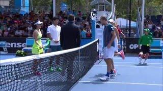 Zheng/Chung v Vesnina/Soares highlights (1R) | Australian Open 2016