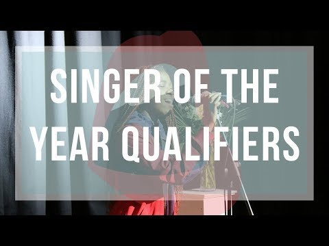Singer of the Year Qualifiers 2018