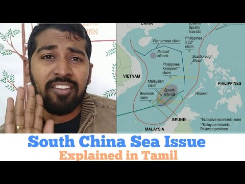 South China Sea Dispute | Explained In Tamil | Siddhu Mohan