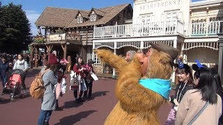 TDL オラフの発言に爆笑するウェンデル Tokyo Disneyland Laughing Wendell for Olaf