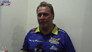 Barry Bishop Post Meeting Interview : Wightlink Warriors Shale Track Racing Club : 22/07/2021
