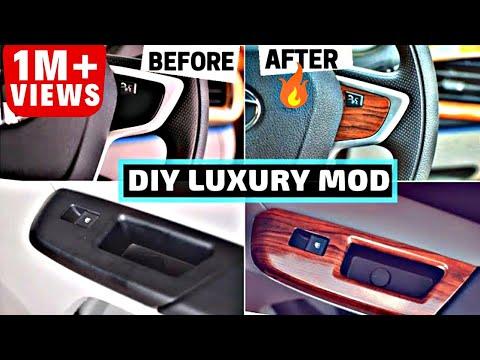 DIY LUXURY CAR INTERIOR MODIFICATION