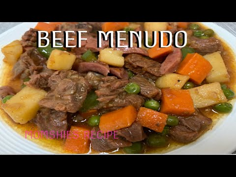 How To Cook BEEF MENUDO/my Own Recipe